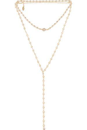 Ettika Layered Lariat Necklace in .