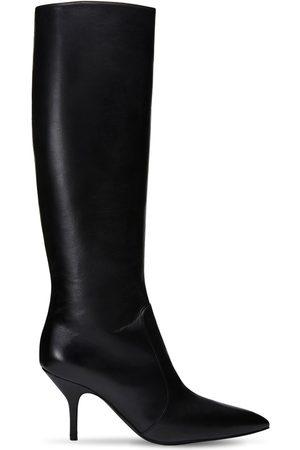 "MAGDA BUTRYM 85mm Hohe Stiefel Aus Leder ""egypt"""