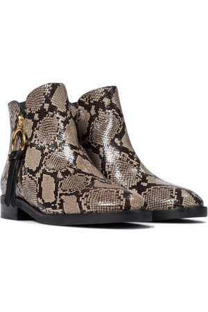 See by Chloé Ankle Boots Louise aus Leder