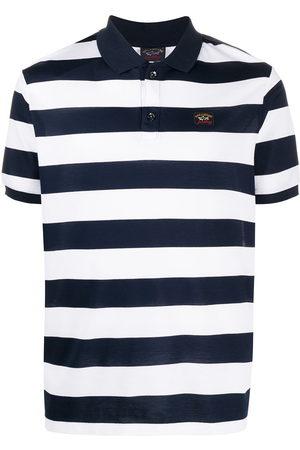 Paul & Shark Gestreiftes Poloshirt