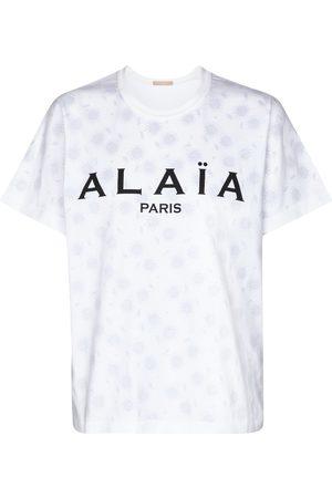 Alaïa T-Shirt aus Baumwolle