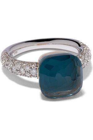 Pomellato Damen Ringe - 18kt 'Nudo' Rot- und Weißgoldring mit Diamant