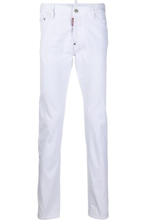 Dsquared2 Mid-rise straight-leg jeans
