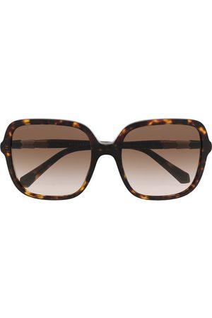 Bvlgari Oversized-Sonnenbrille in Schildpattoptik