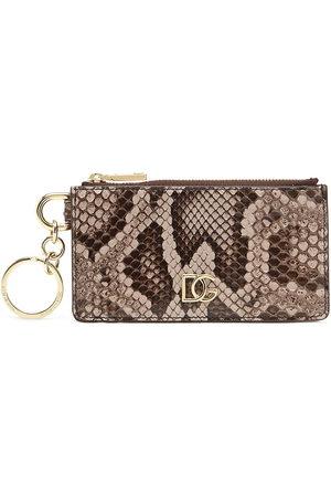Dolce & Gabbana Snake DG wallet - Nude