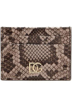 Dolce & Gabbana Snake DG cardholder - Nude