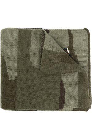 GREG LAUREN Schal mit Camouflage-Intarsie