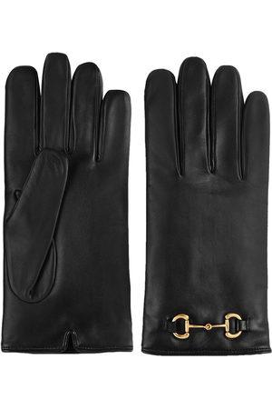 Gucci Handschuhe mit Horsebit-Detail