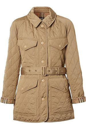 Burberry Quilted nylon canvas field jacket