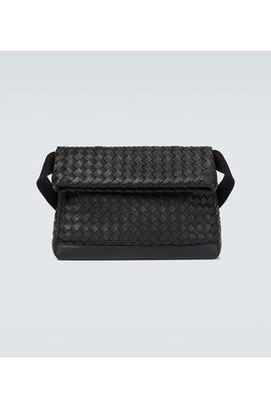 Bottega Veneta Messenger Bag aus Intrecciato-Leder
