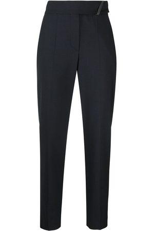 Brunello Cucinelli Cropped-Hose mit hohem Bund