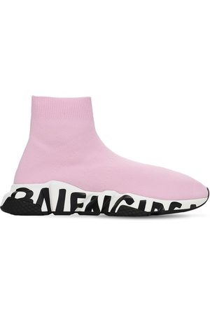 "Balenciaga 30mm Hohe Sneakers ""speed Graffiti Lt"""