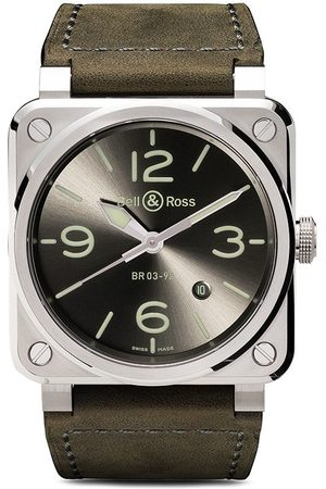 Bell & Ross BR 03-92 Steel 42mm - Grey