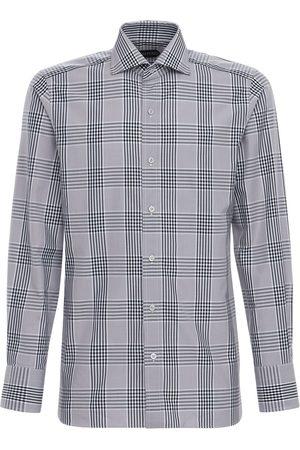 Tom Ford Herren Business - Baumwolloxfordhemd Mit Karos