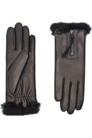 AGNELLE Damen Handschuhe - Marina Taktil mit Futter aus Kaninchenfell