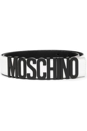 Moschino Gürtel mit Logo-Schild