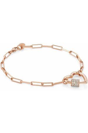 Nomination Armband - Charming mit grossem Herz - 148502/007