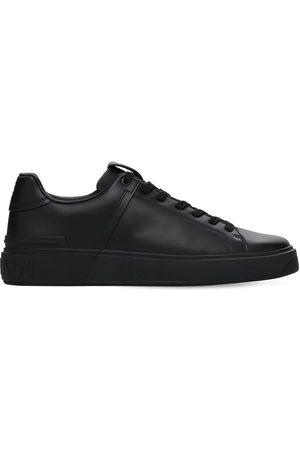 "Balmain 20mm Hohe Sneakers Aus Leder ""court"""
