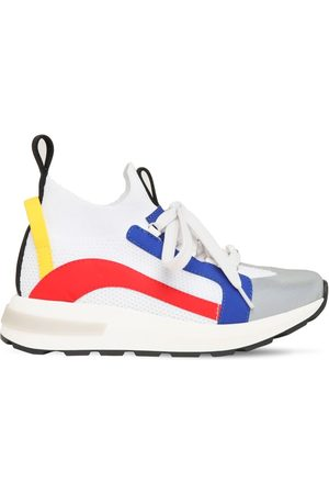 Dsquared2 Schnürsneakers Aus Strick