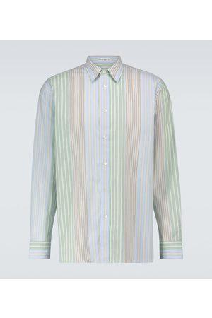 J.W.Anderson Gestreiftes Hemd aus Baumwolle