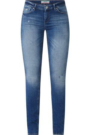 Only Skinny Fit Jeans mit Stretch-Anteil Modell 'Carmen