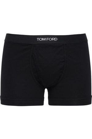 Tom Ford Set: 2 Boxer Aus Baumwolle Mit Logo
