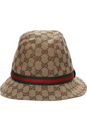 Gucci Mädchen Hüte - Hut Aus Baumwollmischung Mit Logomuster