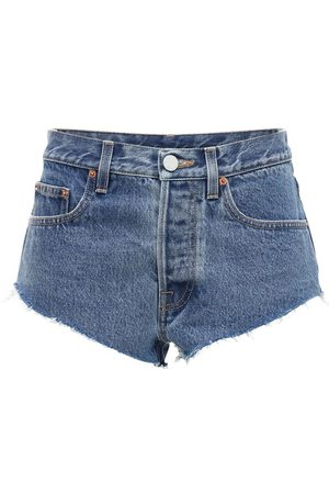 "Vetements Baumwolldenim-hotpants ""haute Couture"""