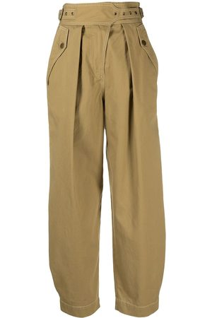 ULLA JOHNSON Cropped-Ballonhose - Nude