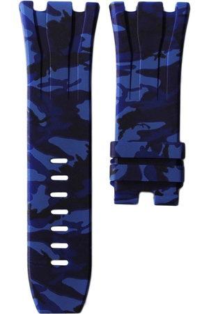 HORUS WATCH STRAPS Blue Camo Uhrenarmband 44mm