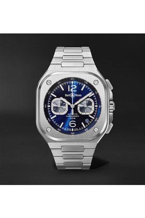 Bell & Ross Herren Uhren - BR 05 Automatic Chronograph 42mm Stainless Steel Watch, Ref. No. BR05C-BU-ST/SST