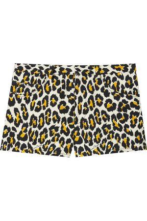 Marc Jacobs Shorts mit Leoparden-Print