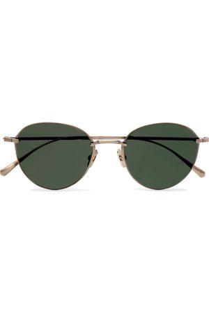 Mr. Leight Herren Sonnenbrillen - Mulholland S Round-Frame -Tone Sunglasses