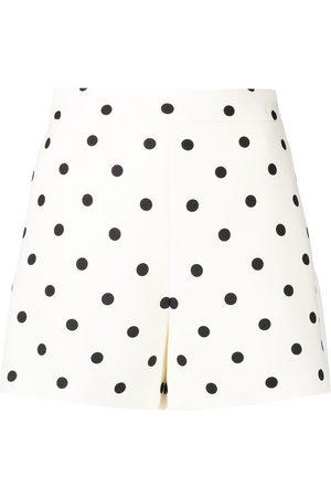 VALENTINO Polka dot print short shorts