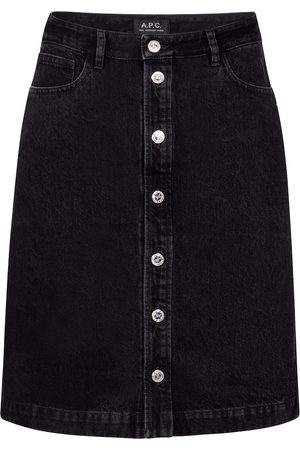 A.P.C. High-Rise-Jeansrock Therese