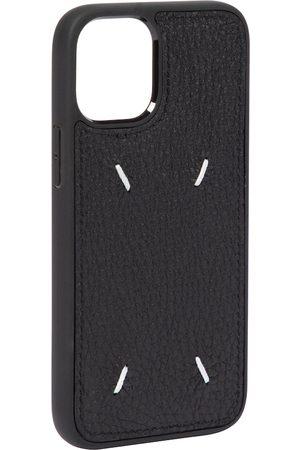 Maison Margiela Damen Handy - Hülle für iPhone 12 Mini aus Leder