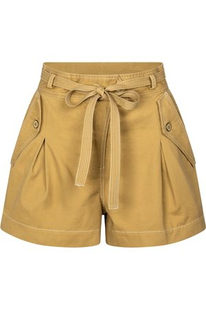 ULLA JOHNSON Shorts Oscar aus Baumwolle