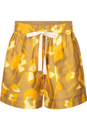 Lee Mathews Shorts Wren mit Leinenanteil