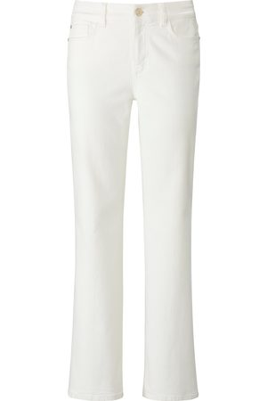Laura Biagiotti Roma Bootcut-Jeans weiss