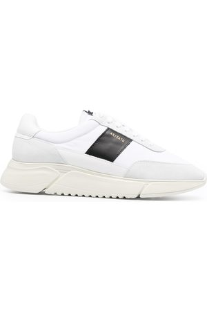 Axel Arigato Sneakers mit Kontrasteinsätzen - WHITE BLACK