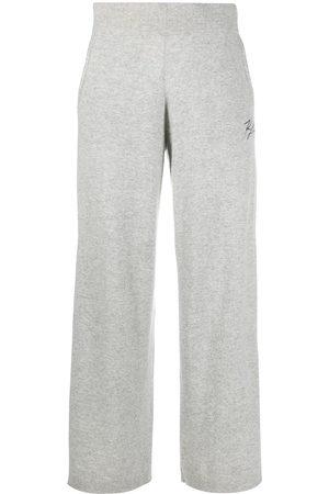 Karl Lagerfeld Wide-leg logo trousers