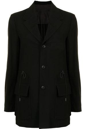 YOHJI YAMAMOTO Drawstring-waist blazer