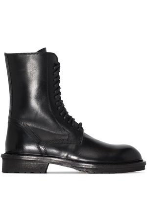 ANN DEMEULEMEESTER Stiefel im Military-Look