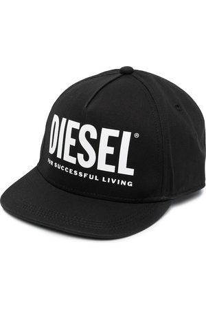 Diesel Baseballkappe mit Logo-Print
