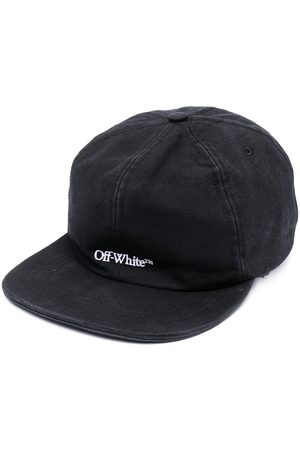 OFF-WHITE BOOKISH OW BASEBALL CAP BLACK WHITE