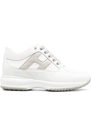 Hogan Sneakers in Metallic-Optik