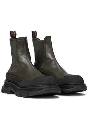 Alexander McQueen Chelsea Boots Tread Slick
