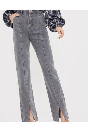 In The Style Hose in mit hohem Bund, Schlitz vorne und geradem Bein