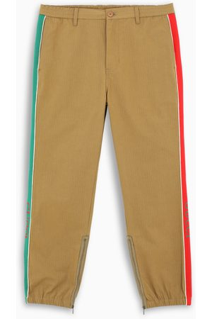 Gucci Logoed bands trousers