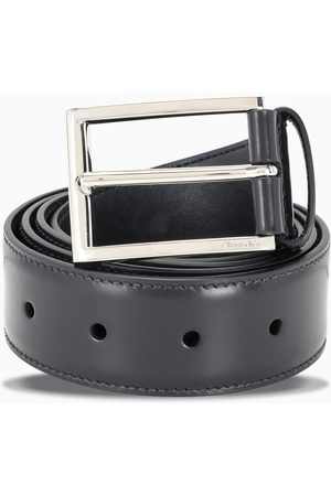Church's Blue classic belt